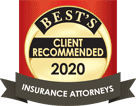 Best's - Client Recommended - 2020 - Insurance Attorneys