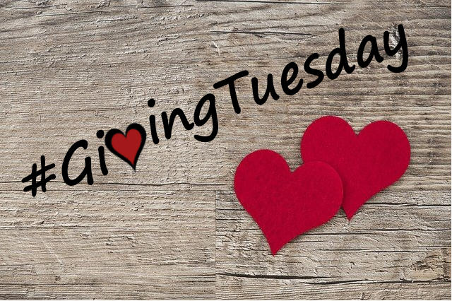 Image of two hearts and #GivingTuesday, representing how charitable trusts attorney Anna M. Price helps you make the most of your contribution on Giving Tuesday or throughout the year through charitable gift planning.