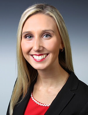 An image of Haley Brooke Johnson, an WV estate planning lawyer at Jenkins Fenstermaker, PLLC who attentively assists WV clients with estate planning strategies.