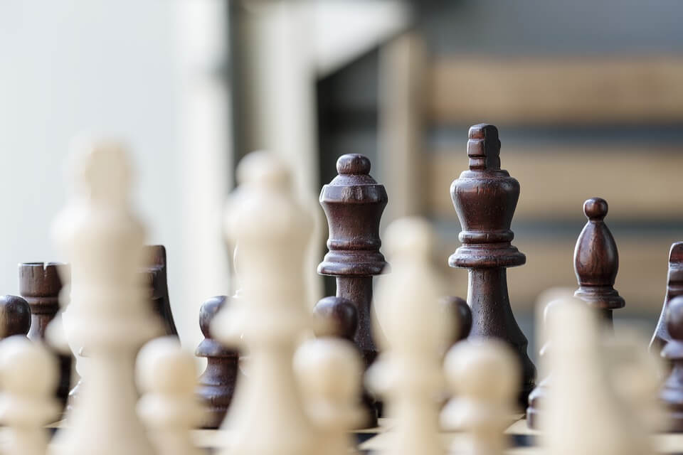 Image of a chess set, representing the steps company owners should take to begin the business succession planning process today. At Jenkins Fenstermaker, you can find an experienced business succession planning attorney to help you in West Virginia (WV), Kentucky (KY), or Ohio (OH).