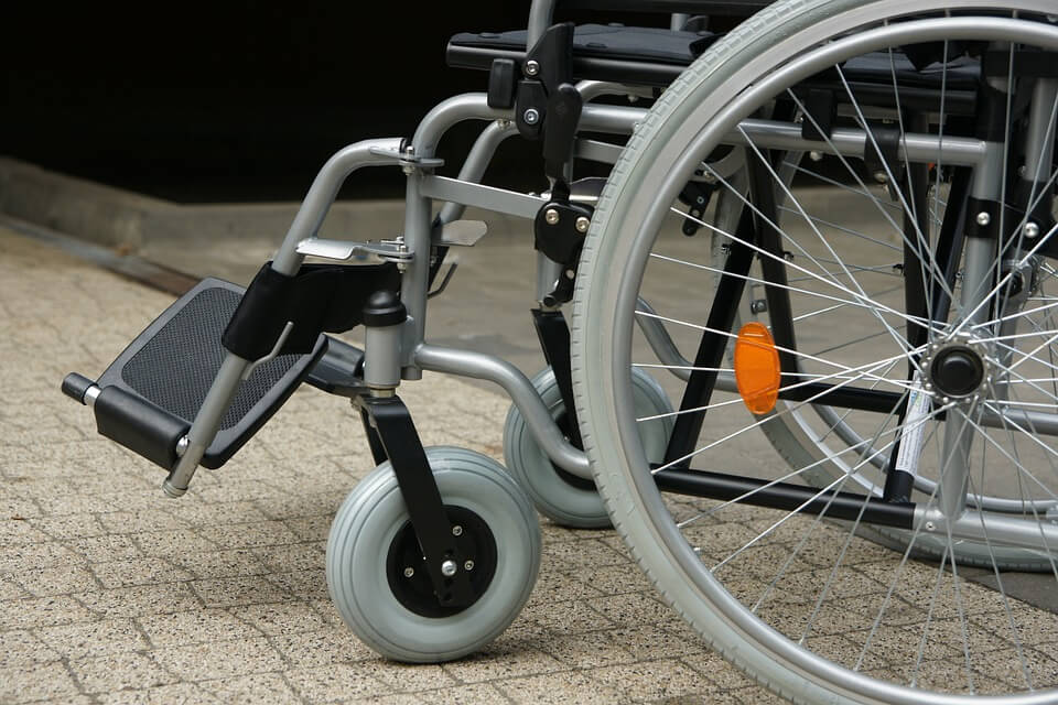Image of an empty wheelchair, representing how the WV Supreme Court of Appeals has dealt with the issue of whole body impairment rating.