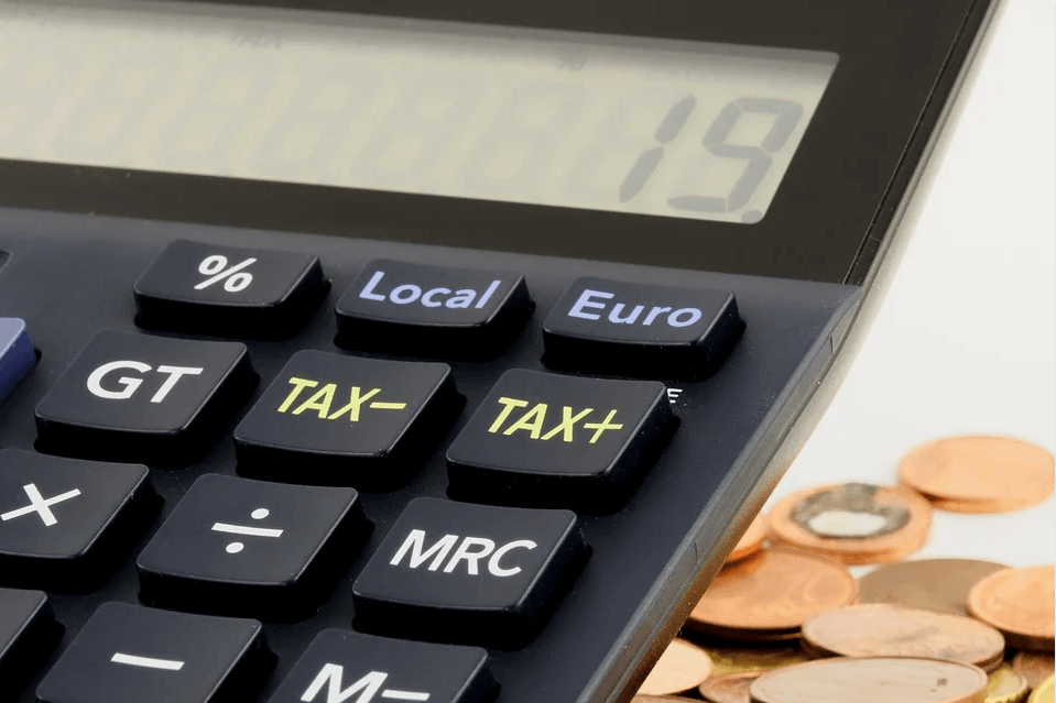 Image of a calculator with tax buttons, representing how estate tax attorney Anna M. Price can help you make the most of the unified tax credit before it's gone.
