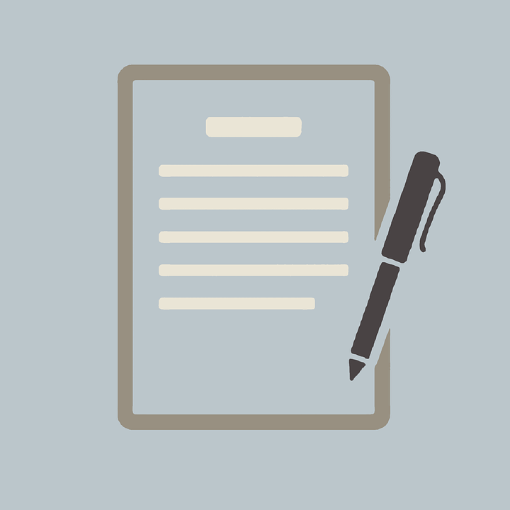 An icon of a document and pen, representing the legal implications of creating or changing an irrevocable trust in Kentucky.
