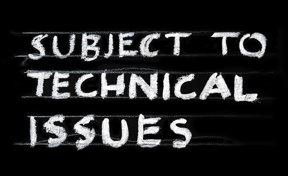 "An image of the words ""subject to technical issues"" written in chalk on a blackboard, representing the risks related to technical errors in WV wills and how an experienced wills, trusts, and estate planning attorney like Anna M. Price at Jenkins Fenstermaker, PLLC can help you avoid those errors."